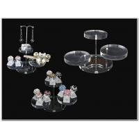 China Clear Brilliant Acrylic Jewellery Display Stands For Earring Display wholesale