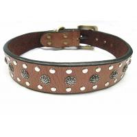 China Fashion big leather dog collar for big dogs big discount with more quantities wholesale