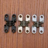 China Zinc Alloy Hidden Hinges Invisible Concealed Cross Door Hinge wholesale