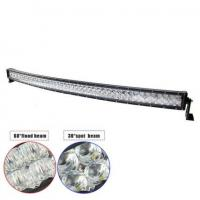 "China 54"" 300W Double-row Curved 6000K Spot/ Flood/ Combo Car Lightbar for Off-road Truck ATV Vehicle wholesale"