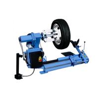 Quality Low Profile Semi-auto Car/ Truck Tyre Changer 3ph / 400V / 50Hz With Double Helper Arm for sale