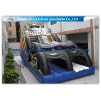China Funny Bat Backyard Water Slide Inflatable , Bounce House Water Slide For Kids wholesale