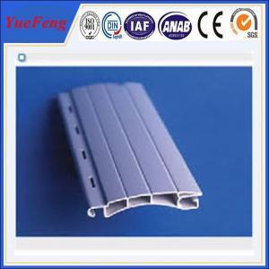 China European designed Aluminum extrusion profile slat for Roller/Rolling shutter doors wholesale
