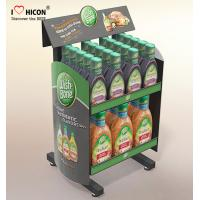 China Drive Sales Food Store Supply Metal Display Rack Tiered Crisp Sauce Display Stands wholesale