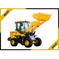 China 2000kg Front Loader Tractor Steering Priority , Front Head Loader Unloading Hydraulic System wholesale