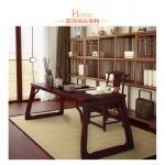 China Modern Hotel Living Room Showcase / Wall Display Wooden Bookshelf wholesale