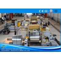 China Steel Metal Automatic Slitting Machine / Coil Rewinding Machine wholesale