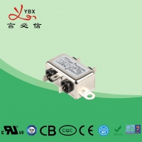 China Low Pass Small Size EMI Single Phase RFI Filter For Audio Equipment wholesale