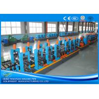 China Adjustable Pipe Size Steel Pipe Production Line Carbon Steel With 100m / Min Running Speed wholesale