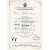 Nanjing Sky MEMS Technology Co.,Ltd. Certifications