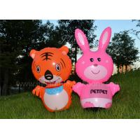 China Cute PVC Inflatable Products , Animal Shaped Kids Inflatable Tumbler Toy wholesale