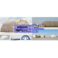 China Large Inflatable Hangar, Large PVC Air Inflatable Military Tent wholesale