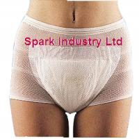 China Maternity Mesh Incontinence Pants , Highly Stretchable Disposable Incontinence Pants wholesale