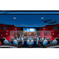 China Wonderful Customize 5D Cinema System With Three - Seats Special Motion Platform wholesale