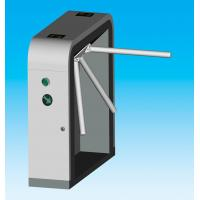 Quality Manual Security tripod turnstile gate with reset systems for enterprise and for sale