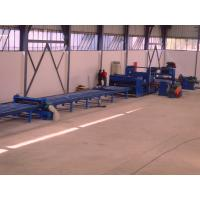 China 37kw scrape edge slitting and Taper Cutting Machine , cut to length line for light pole wholesale