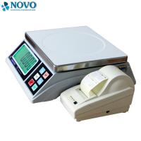 China label printing igital Weighing Scale 15kg 30kg for fruits in Supermarket wholesale