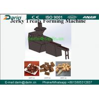 China Pet Snack Crystal Chicken Breast Jerky Low Protein Dog Training Treats Jerky Treats Forming Machine with CE & ISO9001 wholesale