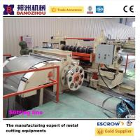 China Auto high speed metal sheet slitting decoiler line for CR,HR wholesale