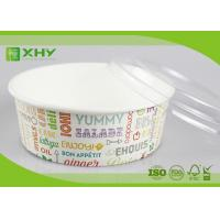 China No Leak 1000ML Paper Salad Bowls Food Grade FDA & FSC & BRC & ISO Certification wholesale