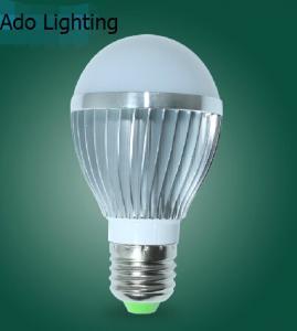Quality 3W new design 2700K 4500K 6500K led aluminum bulb home lighting for sale