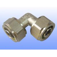 China compression brass fitting equal elbow for PEX-AL-PEX wholesale