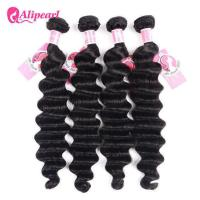 Buy cheap Ali Pearl Loose Deep Wave 8A Virgin Human Hair Weave Bundle Deals from wholesalers
