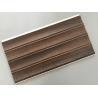 China 25cm × 8mm Four Arcs PVC Wooden Plastic Laminate Panels Customized Length wholesale