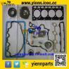 China Kubota V3300 V3300E V3300DI piston+ piston ring+full gasket kit with head gasket for Bobcat T300 engine overhual rebuild wholesale