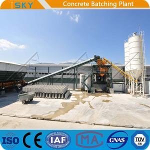 China Civil Construction Precast 180m3 Concrete Batch Mix Plant wholesale