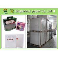 Buy cheap C1S  ivory card Printing Paper , FBB White Back Invitation Card Paper from wholesalers