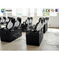 China Pneumatic Mobile 5D Cinema With Snow / Bubble / Rain / Wind Effect 2 Years Warranty wholesale