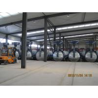 Quality Concrete Autoclave with hydraulic pressure door-opening and safety interlock for sale