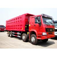China Sinotruk HOWO 50 Tons 8*4 Dump Tipper Truck For Mineral Material Transportation wholesale