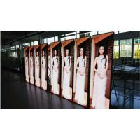 China Rich Color Smart LED Poster Display Flexible Installation Steel Cabinet Structure wholesale