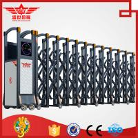 China Automatic aluminum alloy driveway  entrance sliding gate with remote control design for factory-L1525 on sale