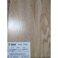 Quality Heat-resistance SPC Vinyl Flooring Coordinated Lin , Office Grey Vinyl Plank Flooring for sale