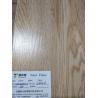 China Heat-resistance SPC Vinyl Flooring Coordinated Lin , Office Grey Vinyl Plank Flooring wholesale