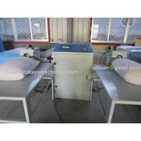 China Polyester fiber carding and pillow cushion filling blowing machine on sale