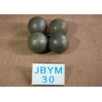 China Long Working Life forged steel grinding balls , Unbreakable steel balls for ball mill wholesale