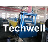 China PLC Controlled Top Hat Channel Profile Cold Roll Forming Machine wholesale