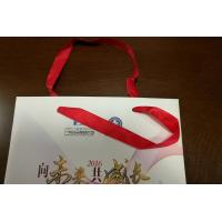Buy cheap Custom Paper Gift Bags 4 Color / PMS Offset Printing with Handle Wedding Use from wholesalers