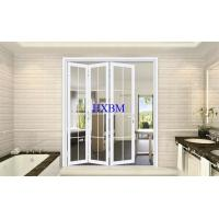China Double Tempered Glazing External Folding Doors With Sound Insulation And Heat Insulation wholesale