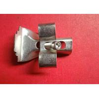 China Galvanized Steel Grating Fixing Clips Mild Steel Material Long Working Life wholesale