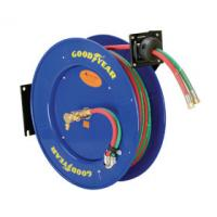 China Goodyear Dual Hose Compressed Welding Hose Reel Heavy-Duty Steel Construction wholesale