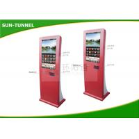 Buy cheap Shopping Mall Coupon Print Self Service Kiosk Touch Screen floor standing product