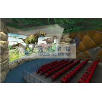 China Pneumatic / Hydraulic / Electrical 4D Theater System , 4d dynamic cinema with fog windy aromatic wholesale