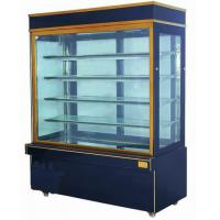 China 2M Sliding Door Commercial Cake Display Freezer Showcase Two Layers wholesale