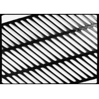 China High Strength PP Uniaxial Geogrid Black for Retaining Wall , 260KN/M on sale