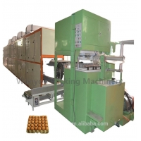 Full Automatic Egg Tray Making Machine Recycled Paper Pulp Molding equipment for sale